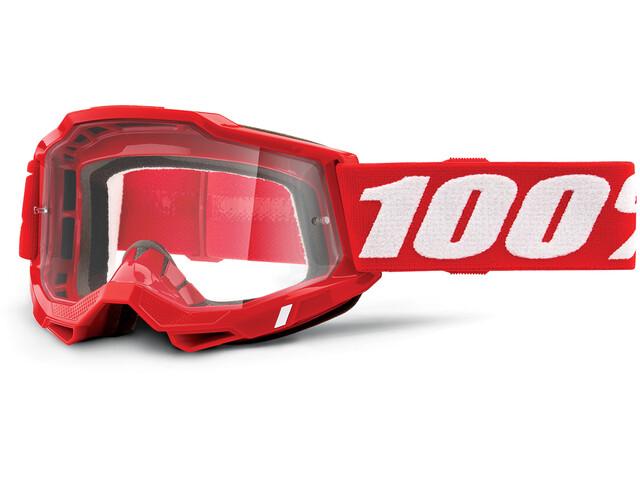 100% Accuri OTG Goggles Gen2, rojo